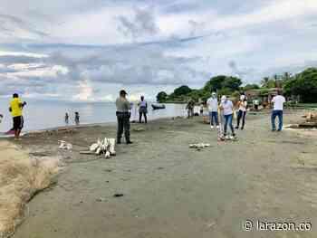 Alistan sector Bahía Rada, en Moñitos, para recibir bañistas - LA RAZÓN.CO