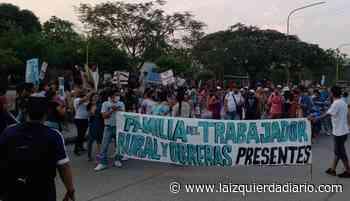 Interzafra: movilización de UATRE en Libertador General San Martin - La Izquierda Diario
