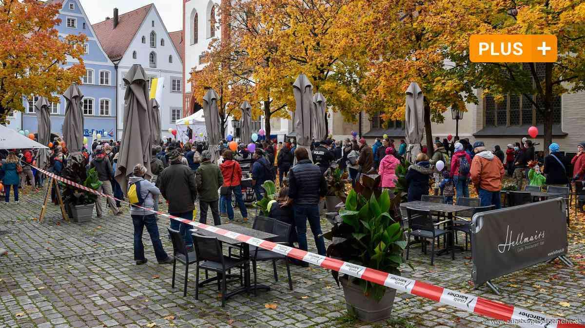 Wirte klagen nach der Corona-Demo in Landsberg über Umsatzeinbußen