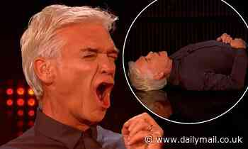 Phillip Schofield COLLAPSES during Million Pound Cube