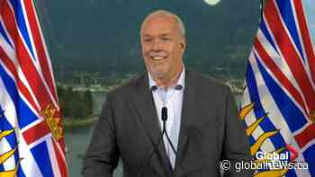 BC election 2020: Horgan says he'll wait for mail-in ballots after his projected majority win
