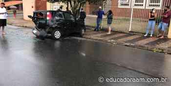 Educadora AM - Acidente deixa ferido na Avenida Cônego Manoel Alves, em Limeira, neste sábado (24) - Educadora