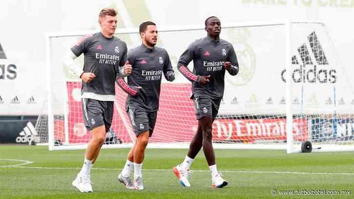 Eden Hazard volvió a entrenar con el Real Madrid