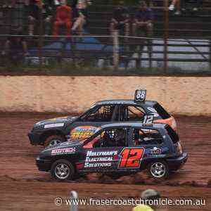 WET & WILD: Racing action from Maryborough Speedway - Fraser Coast Chronicle
