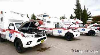 Cusco: entregan tres ambulancias a centros de salud de Layo, Yanatile y Calca - LaRepública.pe