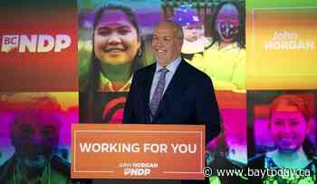 John Horgan says he will work across party lines to find ideas that work for B.C.