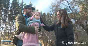 'So fortunate': Alberta baby 'wins' drug lottery for $2.8M spinal muscular atrophy treatment