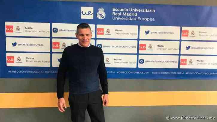 Tras salir de América, Tena hace maestría en universidad del Real Madrid
