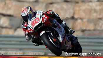 """MotoGP: Nakagami logró su primera """"pole"""" en el GP de Teruel - ESPN"""