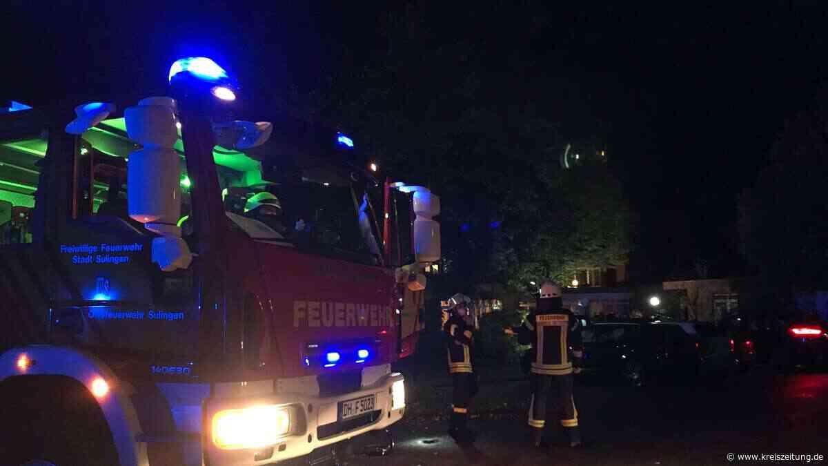 Feuerwehreinsatz - Brandmeldeanlage des Lebenshilfe-Wohnheims löst aus - kreiszeitung.de