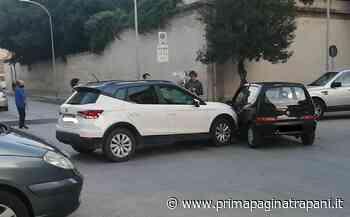 Trapani, ancora un incidente stradale: due auto si scontrano in via Vito Sorba - PrimaPagina Trapani