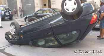 Trapani: un'anziana si ribalta con l'auto in via Archi, illesa - Itaca Notizie