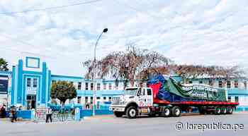 Llega planta de oxígeno valorizada en 220.000 dólares a valle Chicama - LaRepública.pe