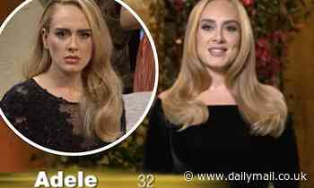 Adele jokes she has signed up for the next series of Love Island