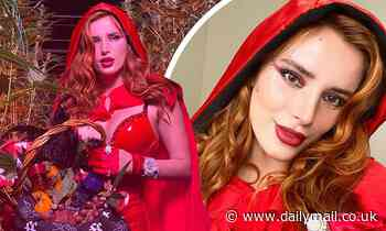 Bella Thorne dons raunchy Little Red Riding Hood costume that leaves little to the imagination