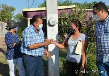 Después de 15 años de espera, alcalde de Navolato lleva energía eléctrica a familias de Los Arredondo - Extraoficial.mx