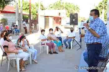 Inaugura Eliazar Gutiérrez pavimentación de calle en San Pedro, Navolato - Extraoficial.mx