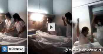 """""""Burla a los muertos"""": video de enfermeras españolas imitando un fallecido generó severa polémica - BioBioChile"""