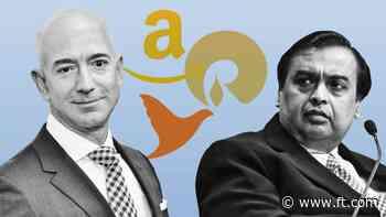 Bezos squares up to Ambani as India ecommerce battle looms