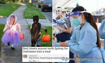 Debate over Halloween divides residents of one of Australia's swankiest suburbs