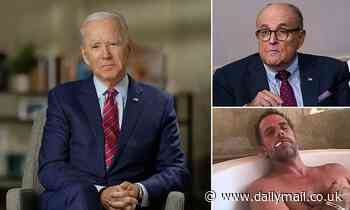Joe Biden accuses Rudy Giuliani of being a Russian pawn in a 'smear campaign'
