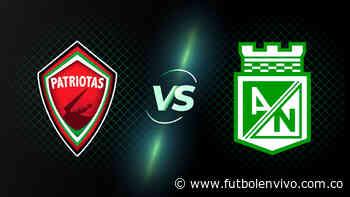 Patriotas vs Nacional en vivo online: ver partido Liga BetPlay, en directo - Fútbol en vivo
