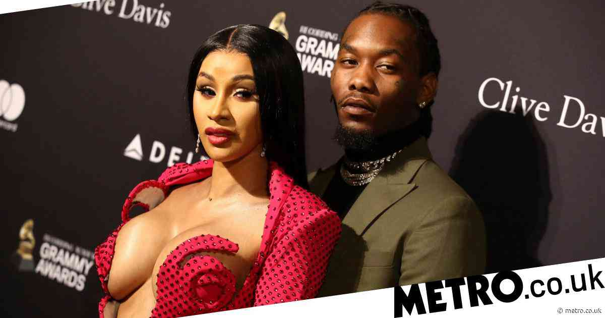 Offset thanks fans for support and urges them to vote after being detained by police officers at Trump rally