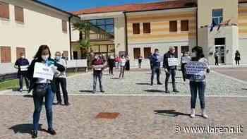 Protesta a Zimella (Diennefoto) - L'Arena