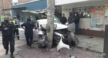 Matucana: Exgobernador de Cerro Pasco, Teódulo Quispe Huertas, murió en accidente de tránsito - Ojo