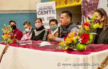 Paracho lo dice: Torres Piña Gobernador - Quadratín - Quadratín Michoacán