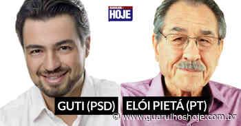 Disputa pela Prefeitura de Guarulhos segue polarizada entre Guti (PSD) e Elói Pietá (PT) - Guarulhos Hoje