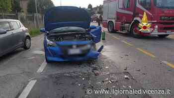 Chiampo, incidente in via Europa | G. di Vicenza - Il Giornale di Vicenza