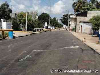 Complementan trabajos de pavimentación en San José del Valle - tribunadelabahia.com.mx