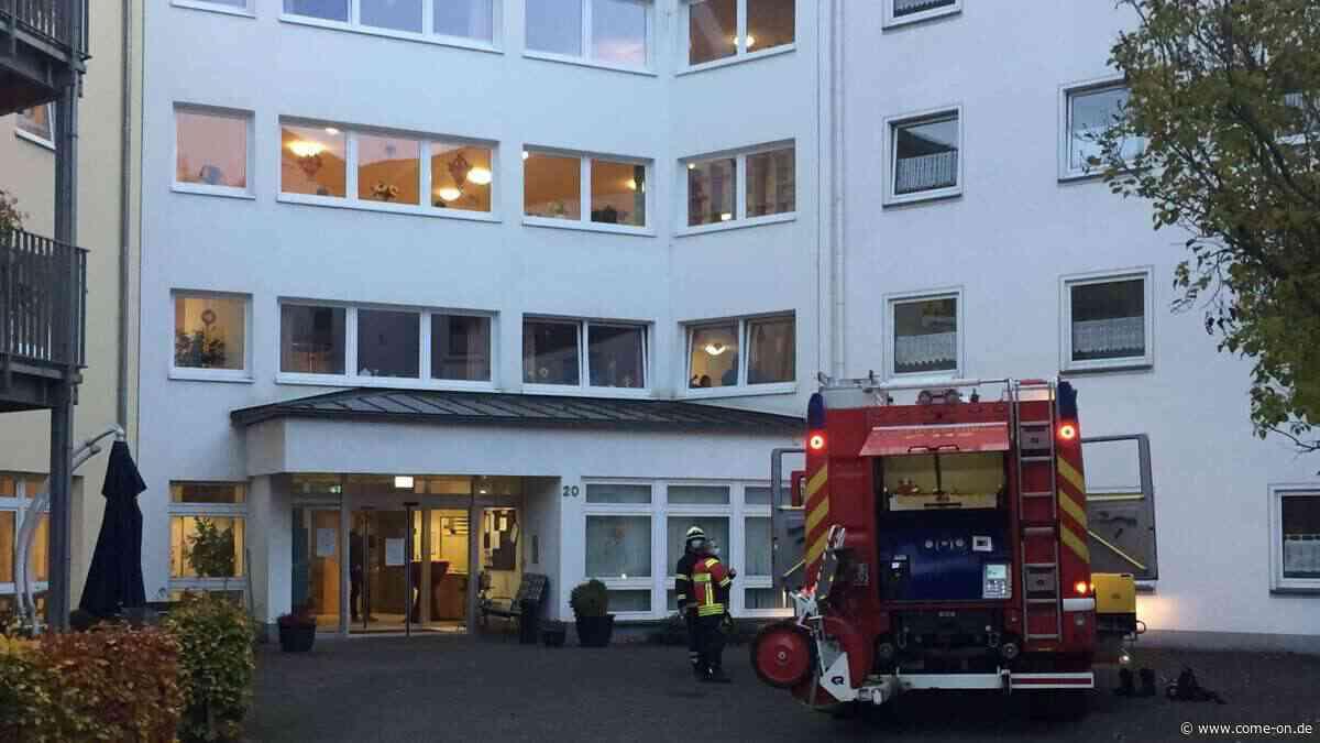 Plettenberg: Feuerwehr bei Altenzentrum St. Josef im Großeinsatz - come-on.de