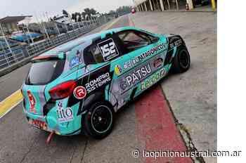 Thiago Martínez probó el nuevo auto en el autódromo de Buenos Aires - La Opinión Austral