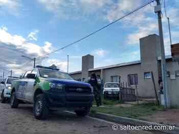 Esclarecimiento de robos de comercios en calle Buenos Aires - Salto en la Red