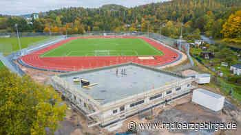 Sport-und Freizeitzentrum in Aue nimmt Gestalt an - Radio Erzgebirge