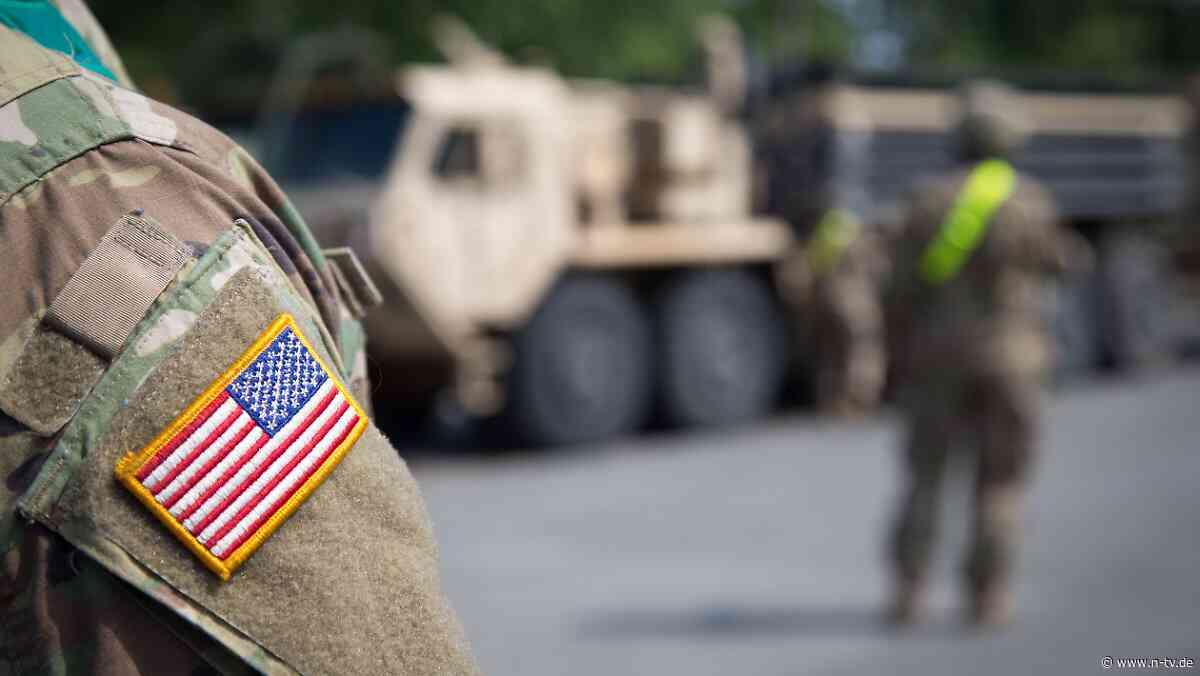Geplanter Abzug aus Deutschland: Der Teilabmarsch der US-Armee stockt