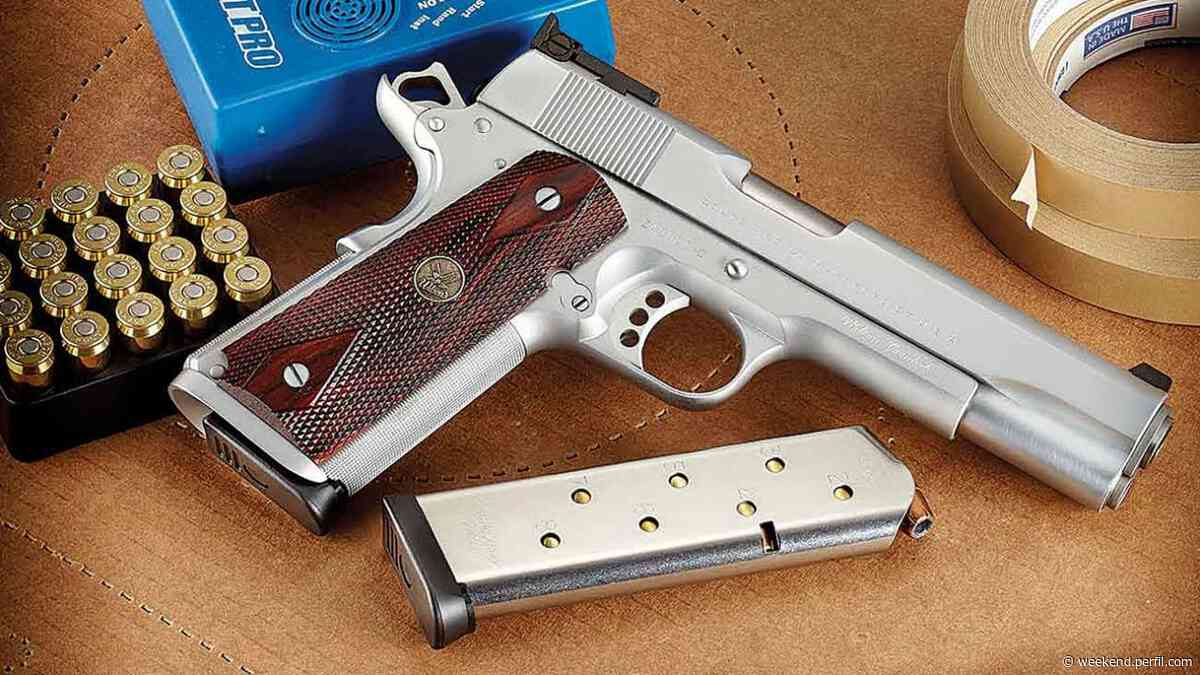 Secretos de armero: cómo customizar una pistola sistema Colt 1911 - Weekend