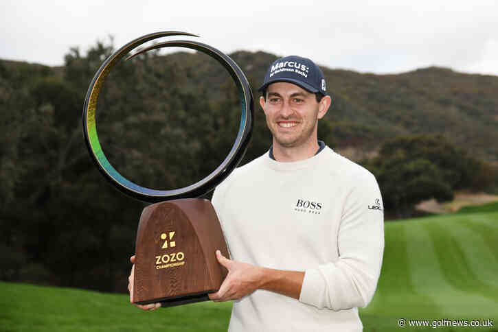 Cantlay captures Zozo Championship