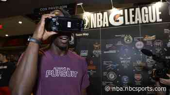 NBA working on virtual courtside seat, holographic interviews, to grow business