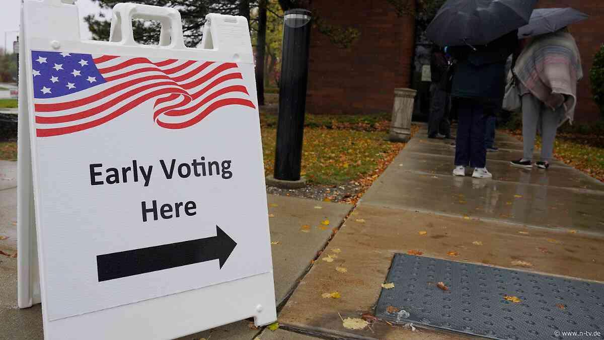 Umfragen sehen Biden vorn: 59 Millionen US-Bürger haben schon gewählt