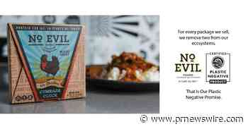 No Evil Foods Becomes First Plant-Based Meat Brand To Go Plastic Negative