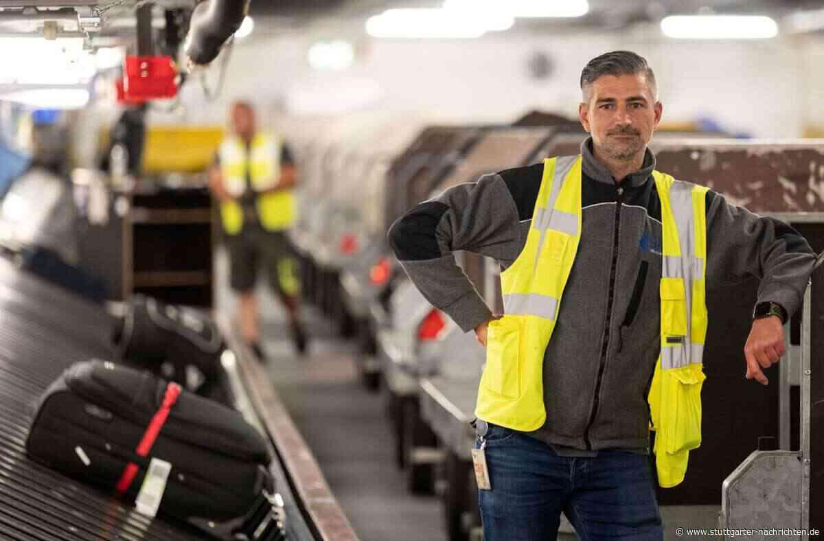 Flughafen Stuttgart - Der Herr der Koffer – so arbeitet ein Gepäckverteiler im Herzen des Airports - Stuttgarter Nachrichten
