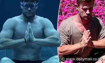 Chris Hemsworth shares a preview of his affirmations and meditation series
