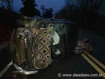 Um morto e dois feridos após grave acidente em Jerônimo Monteiro - Dia a Dia Espírito Santo