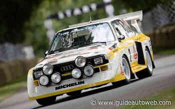 Audi fête les 40 ans du rouage quattro