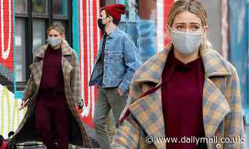 Hilary Duff and Matthew Koma go for a stroll in NYC after revealing they're expecting