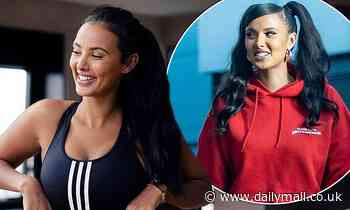 Maya Jama wows in new sportswear-clad snaps as she shows off her toned curves in a crop top