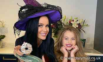 Amanda Holden transforms into a witch in Halloween Instagram with daughter Hollie
